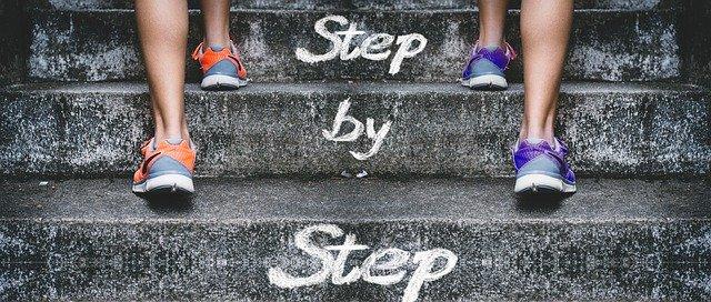 step-by-step zum ziel
